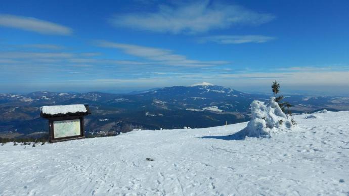 wierzchołek Góry Pięciu Kopców
