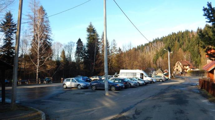 parking w Korbielowie