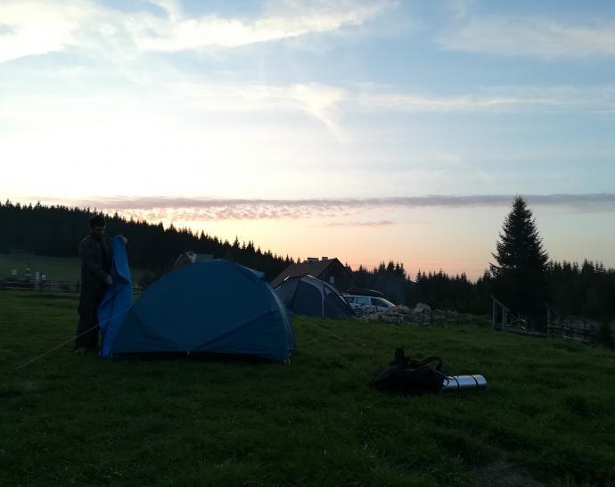 Los campingos.