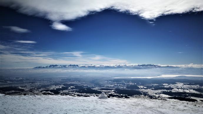 Tatry z Babiej Góry - dla ochłody