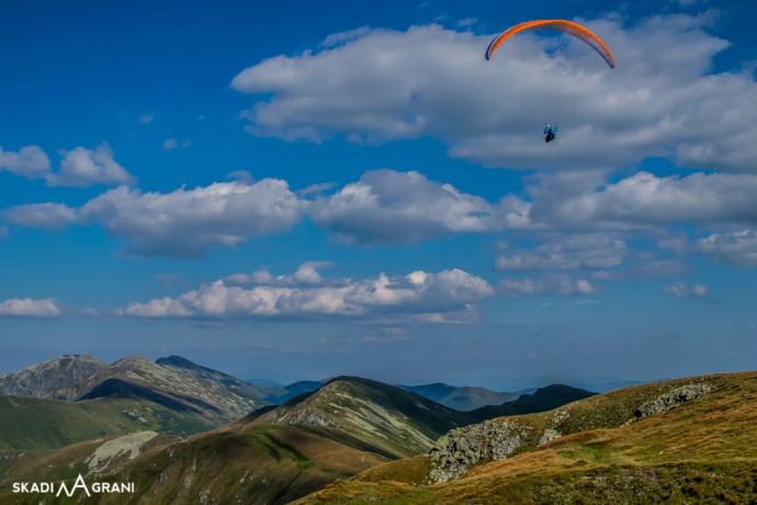 Najwyższe szczyty Tatr Niżnych - Chopok oraz Dumbier.