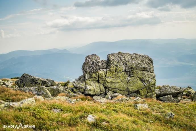 Ciekawe formy skalne.