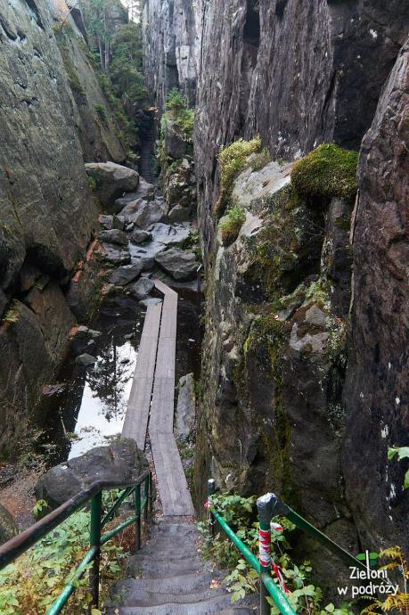 Piekło, czyli najgłębsza część trasy