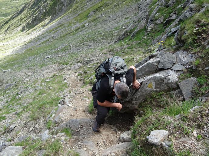Podejście na przełęcz