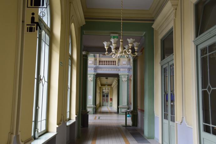 Wnętrze Dworca Kolejowego w Przemyślu