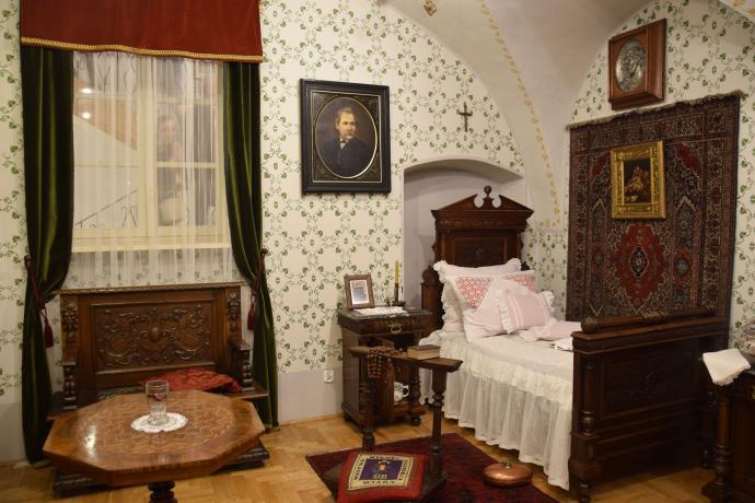 Ekspozycja sypialni mieszczańskiej