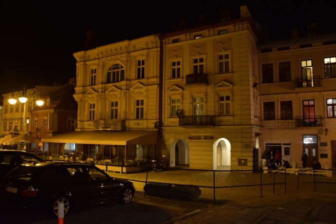 Kamienice północnej pierzei Rynku