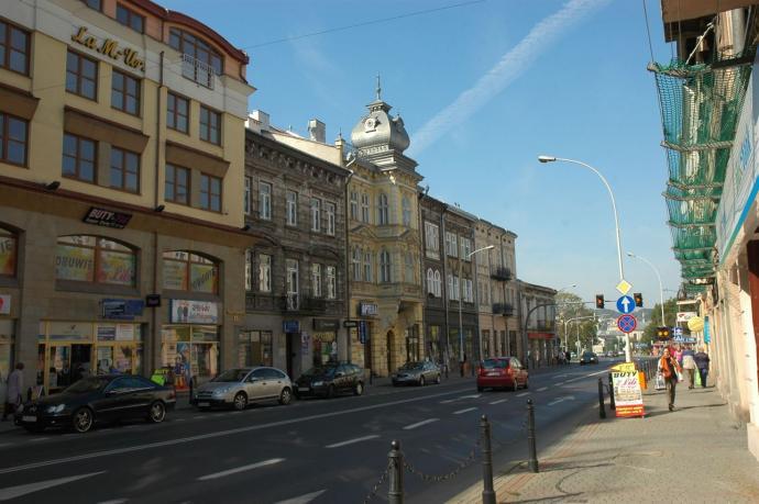 Fragment ulicy Jagiellońskiej