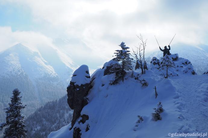 Gęsia Szyja to jeden z najwspanialszych punktów widokowych w Tatrach
