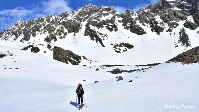 Skitury w Alpach.
