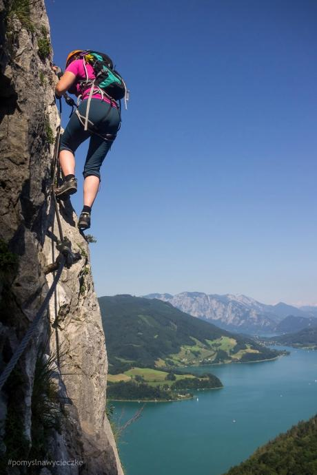 Via ferraty w Alpach (do wysokości 2000 m n.p.m). fot: www.pomyslnawycieczke.blogspot.com
