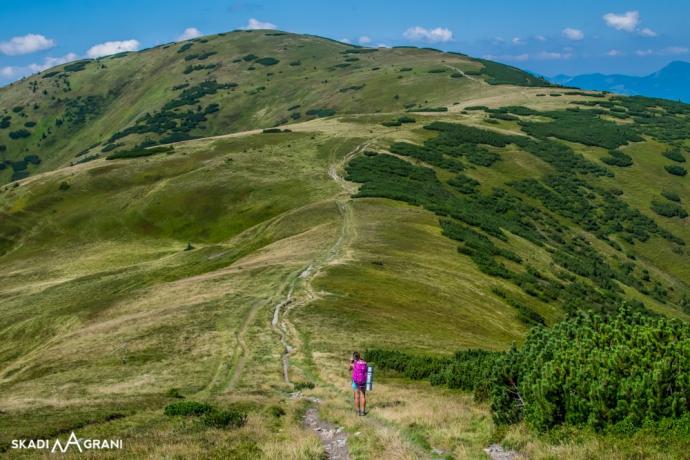Przejścia od kropki do kropki dają mega satysfakcję. Grań Niżnych Tatr o długości ponad 90 km.