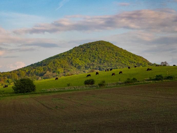 Czeskie Średniogórze – kraina zajewulkanista!