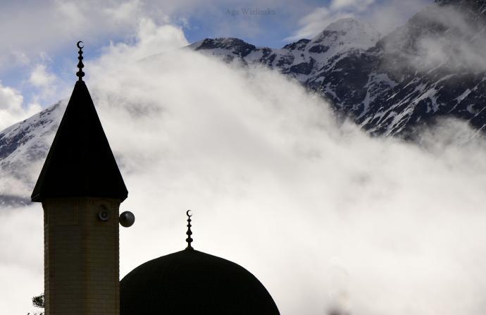 Meczet w Terskolu.
