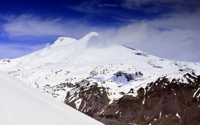 Elbrus z Czegetu.