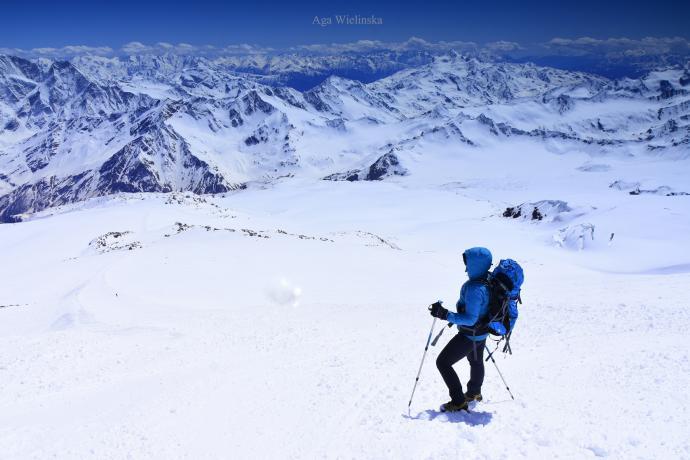 Wysoki Kaukaz.