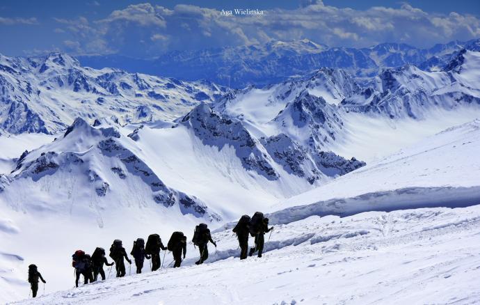 Pociąg na Elbrus.
