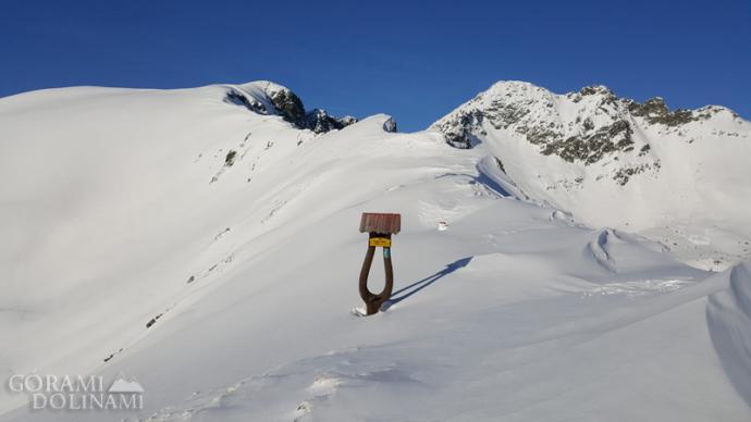 Gładka Przełęcz zimą
