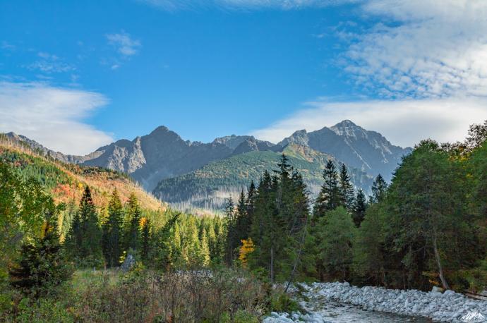 Tatrzański krajobraz