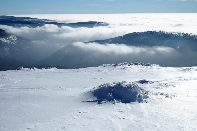 Spektakl chmur po południowej stronie trwa.