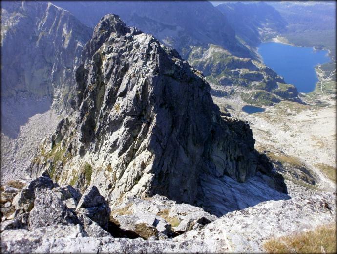 Orla Perć – efektowne spojrzenie z Koziego Wierchu na Kozie Czuby