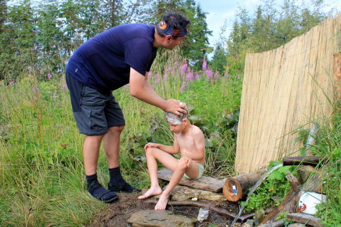 Kąpiel w Andrejcovej