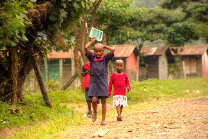 Dzieci w Kilembe