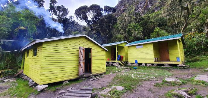 Obóz Kiharo Camp 3430m n.p.m.