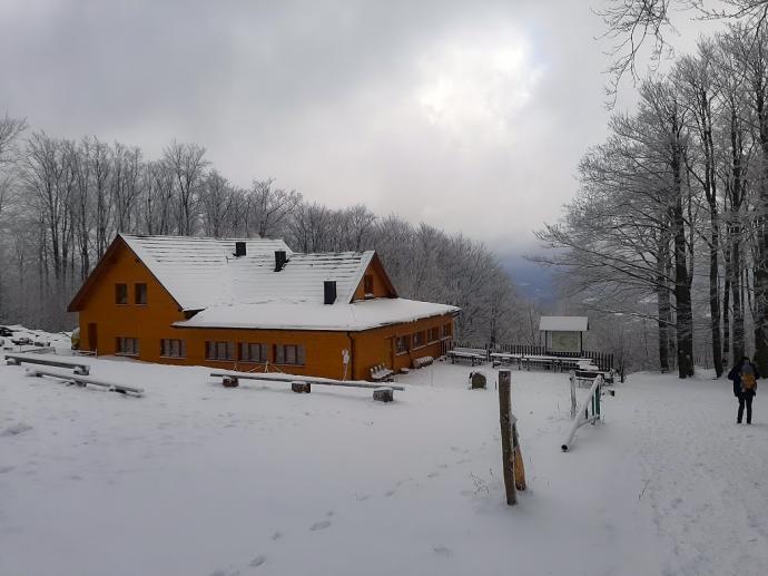 Hrobacza Łąka w zimowej odsłonie
