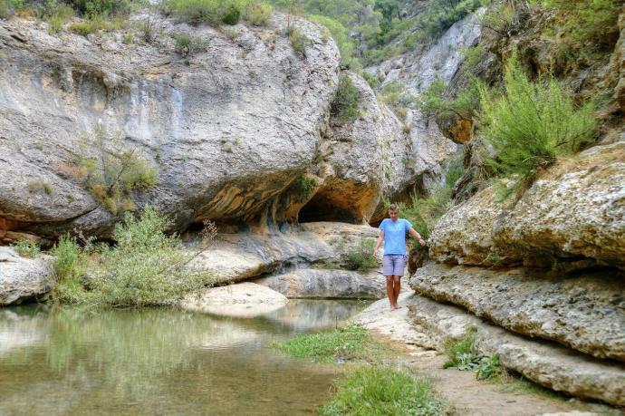 Montsant - skalny kanion Cadolles Fondes