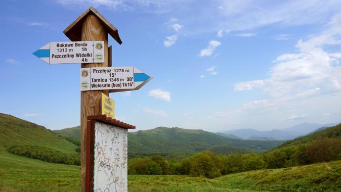 Przełęcz Goprowska na wyciągnięcie reki