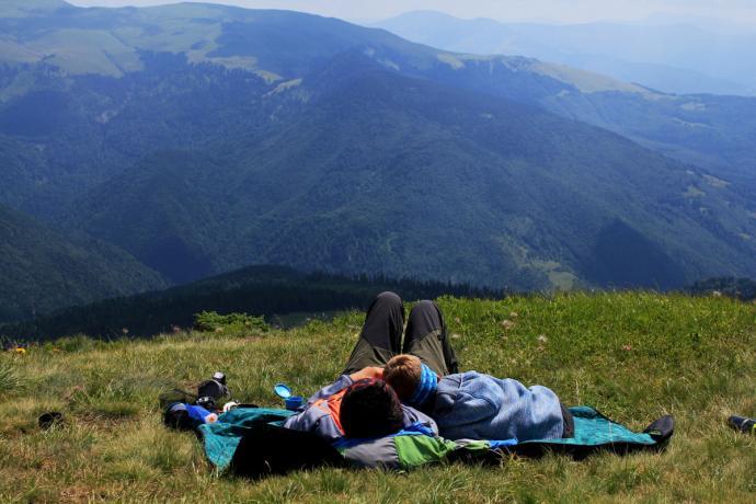 Marmarosze - idealne miejsce na piknik.