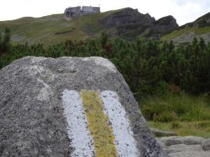 Żółty szlak z Hali Gąsienicowej na Kasprowy Wierch