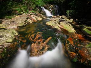 Mały łabski wodospad