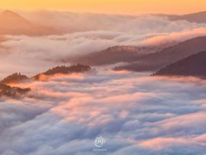 Pieniny w chmurach