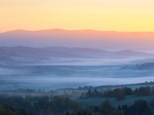 Wschód słońca - Kraj ołomuniecki