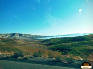 W drodze do parku  - widać już piękne widoki!