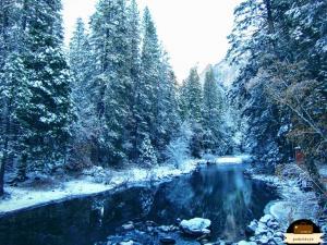 Yosemite zimowe