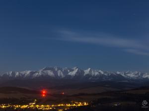 Tatry przy pełni Księżyca
