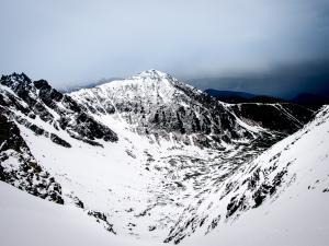 Dolina Pańszczycy z Przełęczy Krzyżne
