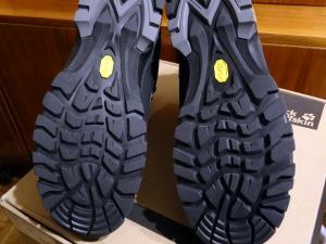 Oba buty od spodu