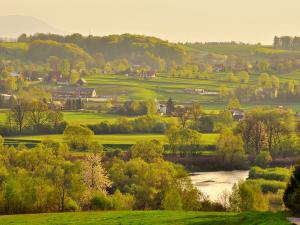 Dolina rzeki Skawy.