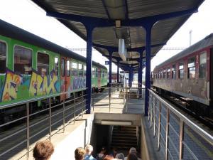 Dworzec kolejowy w Bańskiej Bystrzycy