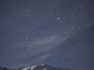 noc przed wejściem na Korab 2