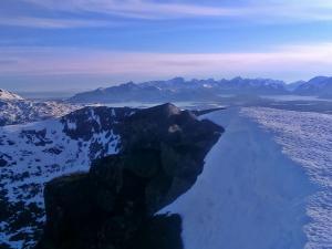 Justadtinden - przepiękny szczyt - 15km wędrówki