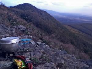 obiadek w górach