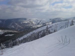 Dolina Wisły i Stożek po lewej