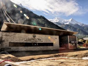 Dolna stacja kolejki w Chamonix
