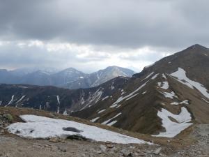 Panorama Wysokich Tatr z Kończystego Wierchu