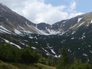 Widok na Jarząbczą Dolinę